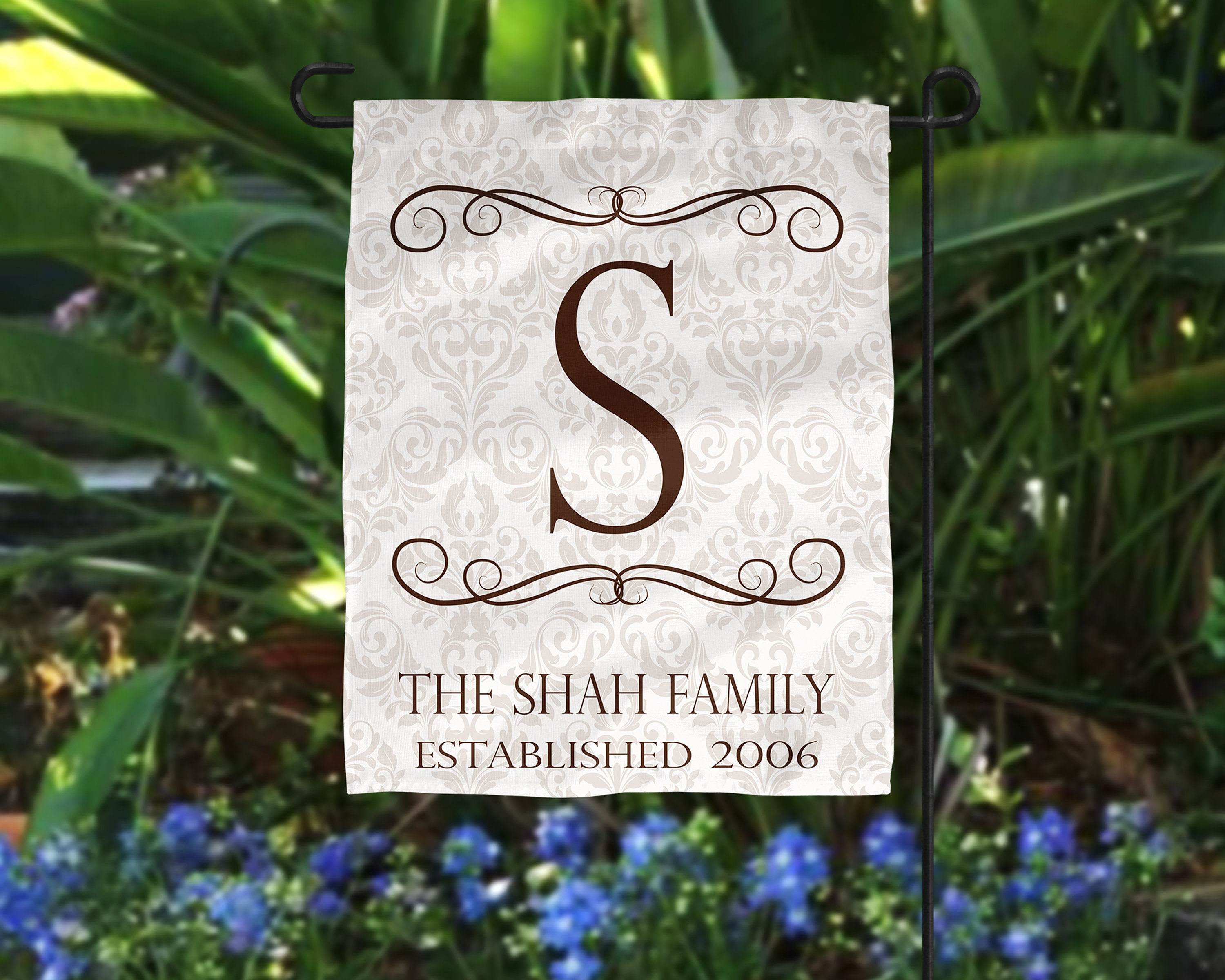 Personalized Garden Flag Personalized Housewarming Gift Family