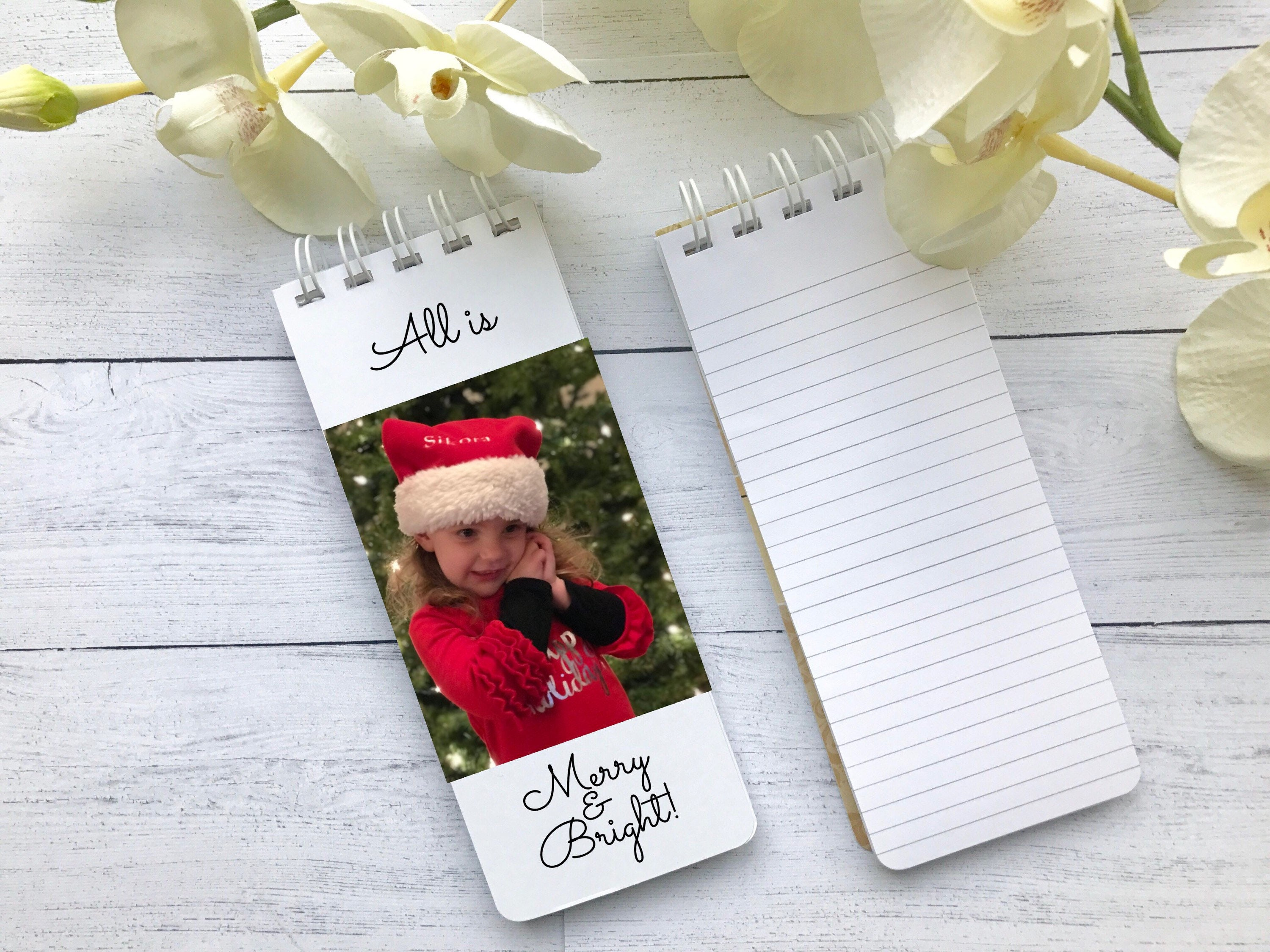 Photo Notepad, Photo Christmas Gift, Grandparent Gift, Set of 3 ...