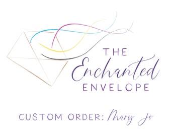 CUSTOM ORDER: Mary Jo, Custom Bag Toppers, Branded Bag Toppers, Printed Bag Toppers