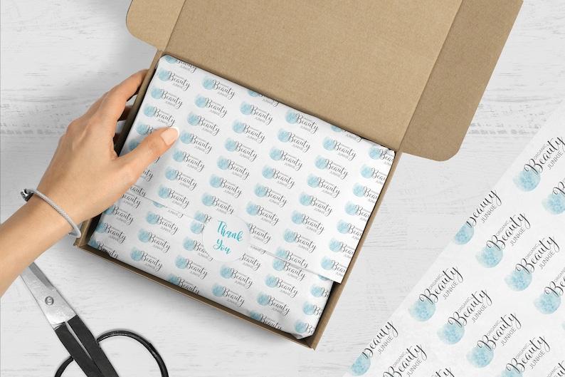 Custom Tissue Paper Branded Tissue Paper Full Color Tissue image 0