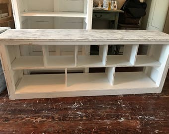 Cubby Bench   Shoe Storage   Made To Order   Easton