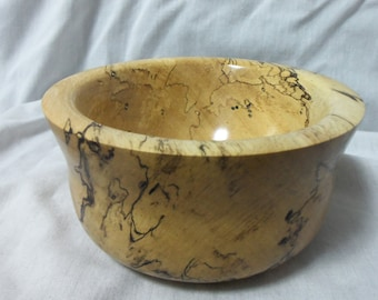Spalted Maple Bowl  #14