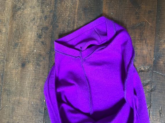 Childrens vintage purple leotard 1960s - image 5