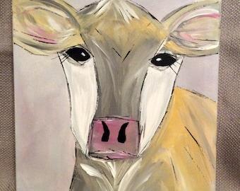 Original Cow Painting