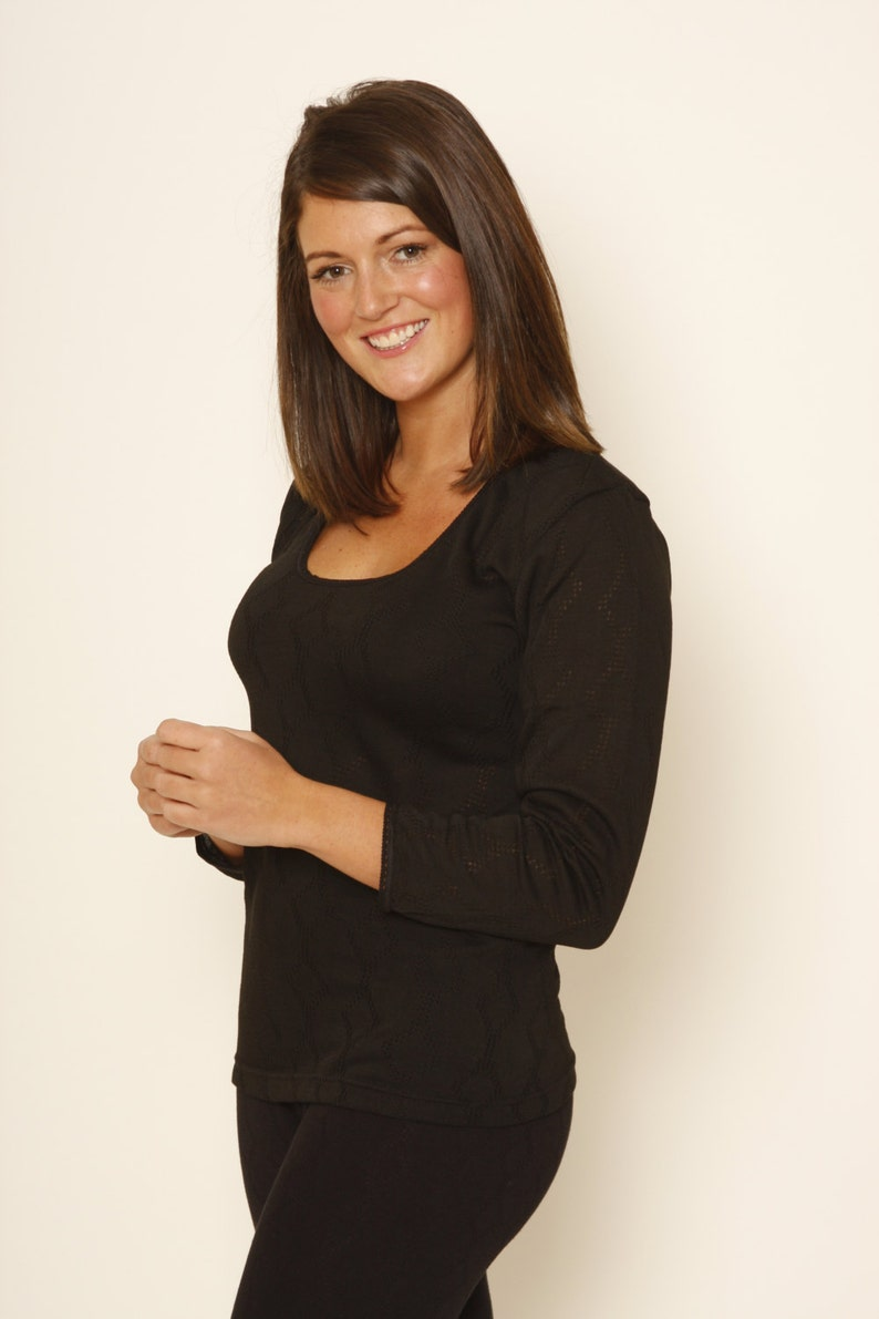 35c1bf9fe946 OCTAVE® Ladies/Womens Thermal Underwear Long Sleeve | Etsy