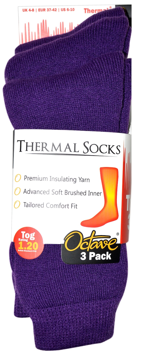 2.45 TOG 1 Pair or 2 Pairs OCTAVE® Mens Extra Warm Thermal Socks