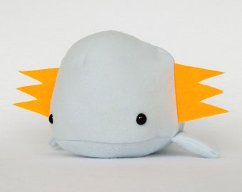 Axolotl cute kawaii plushie (blue)