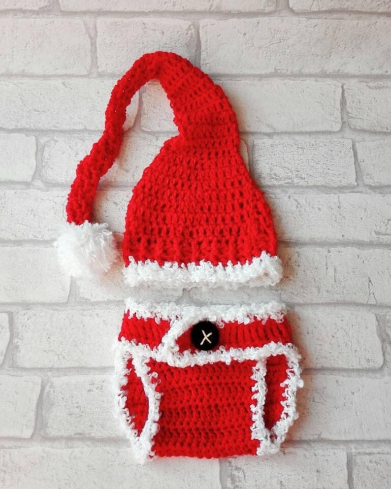 8a8598af974de Photographie les accessoires bébé que père Noël ensemble
