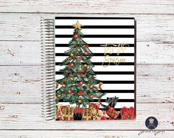Christmas Planner Cover for Erin Condren Life Planner, Happy Planner and Recollections planner