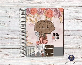 Hello Fall Planner Cover for Erin Condren Life Planner, Happy Planner and Recollections planner