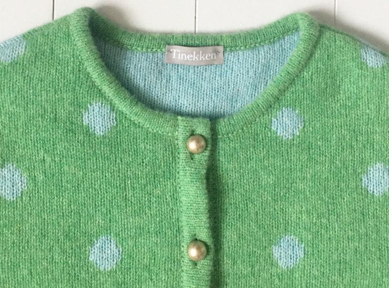 Women's cardigan  polka dots image 0