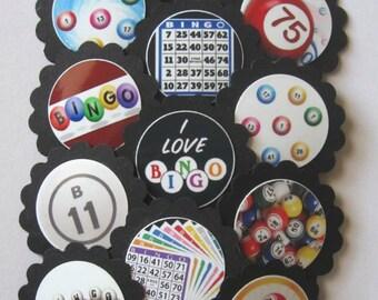 bingo cake toppers etsy