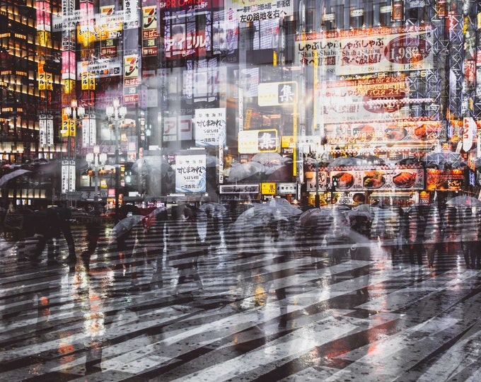 TOKYO NIGHTS IV - by Sven Pfrommer - Artwork is ready to hang