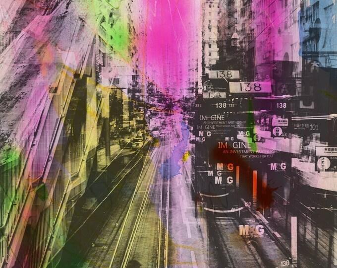 HONG KONG Urban Arch XXX - Artwork by Sven Pfrommer
