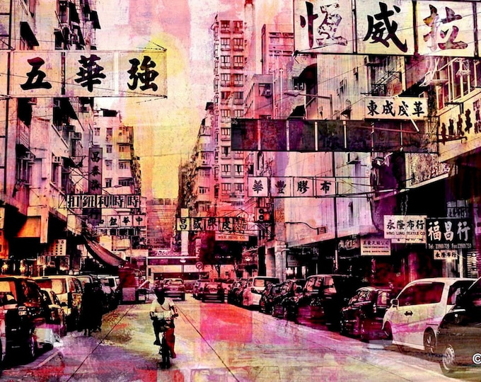 HONG KONG Signs XVIII by Sven Pfrommer - Artwork is ready to hang