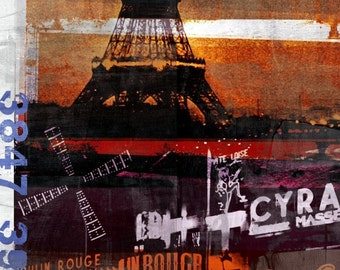 PARIS XV by Sven Pfrommer - 140x70cm Artwork is ready to hang