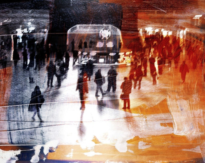 NEW YORK JAM I by Sven Pfrommer - 150x50cm Artwork is ready to hang