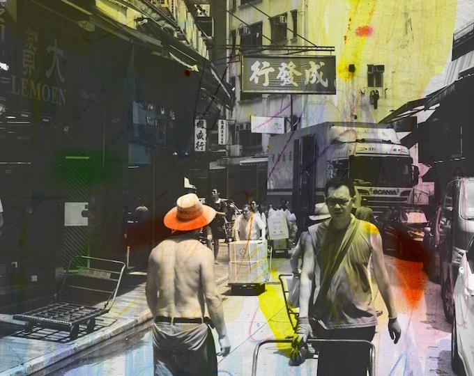 HONG KONG Urban Arch XXVI - Artwork by Sven Pfrommer