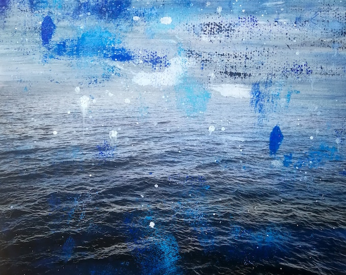 Sea III - Mixed Media Painting by Sven Pfrommer