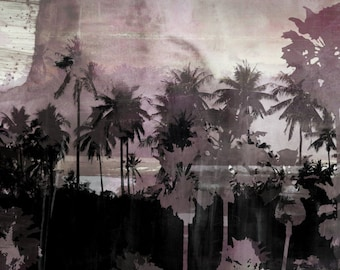 THE BEACH IX by Sven Pfrommer - 150x50cm Artwork is ready to hang