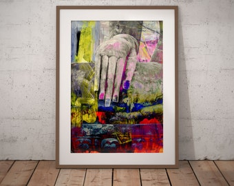 Ancient Asia XXII by Sven Pfrommer - Artwork is ready to hang with a solid wooden frame