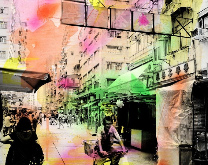 HONG KONG Urban Arch XX - Artwork by Sven Pfrommer