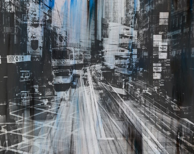 HONG KONG Urban Arch XXIX - Artwork by Sven Pfrommer