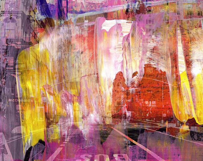 NEWYORK COLOR XV by Sven Pfrommer - 130x100cm Artwork is ready to hang.