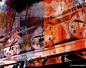 NEWYORK COLOR XXII by Sven Pfrommer - 130x100cm Artwork is ready to hang.