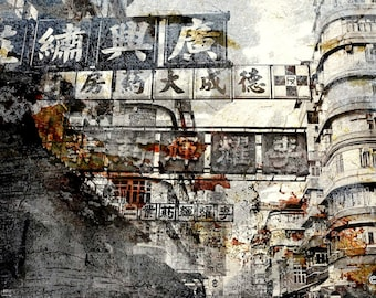 HONG KONG Signs VI by Sven Pfrommer - Artwork is ready to hang
