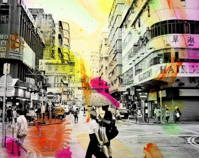 HONG KONG Urban Arch XVIII - Artwork by Sven Pfrommer