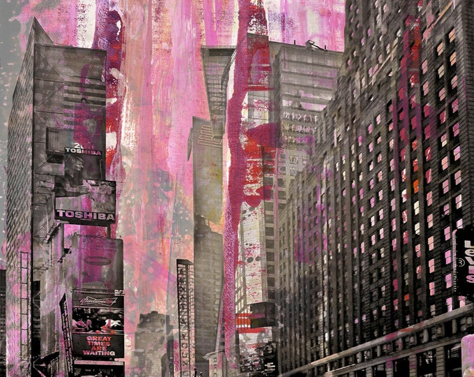 NEWYORK COLOR XXIV by Sven Pfrommer - 130x100cm Artwork is ready to hang.