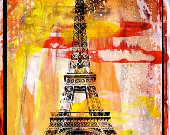 PARIS POLA XXIV by Sven Pfrommer - 130x100cm Artwork is ready to hang
