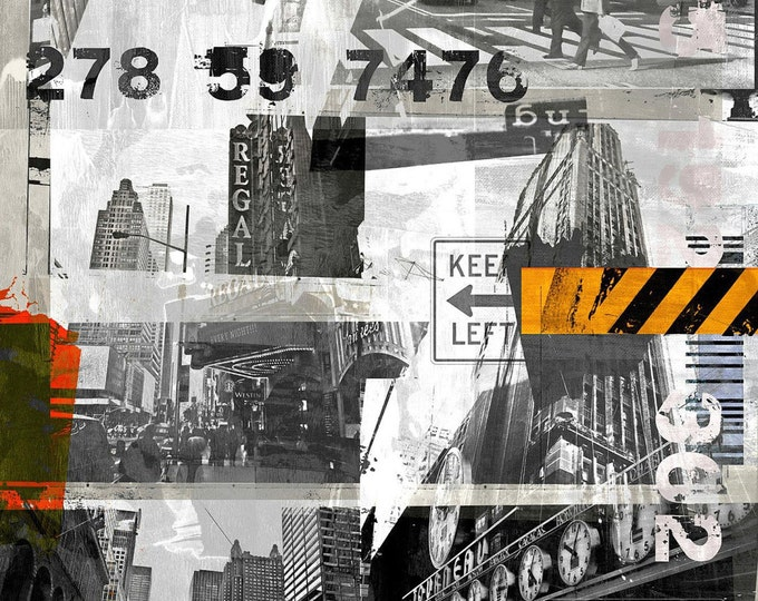 NEWYORK URBAN XI by Sven Pfrommer - 130x100cm Artwork is ready to hang