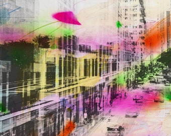 HONG KONG Urban Arch VI - Artwork by Sven Pfrommer