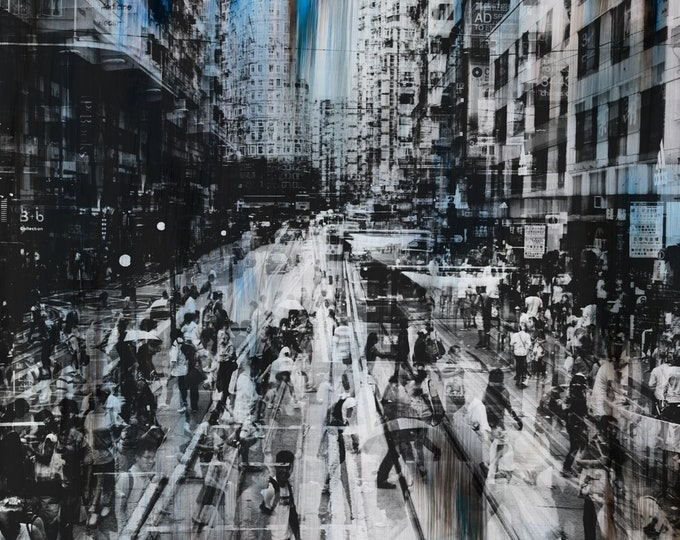 HONG KONG Urban Arch XXXI - Artwork by Sven Pfrommer