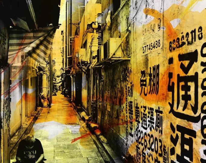 HONG KONG Urban Arch XV - Artwork by Sven Pfrommer