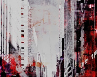 NEWYORK COLOR XXXIII by Sven Pfrommer - 100x80cm Artwork is ready to hang