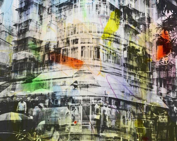 HONG KONG Urban Arch XXI - Artwork by Sven Pfrommer