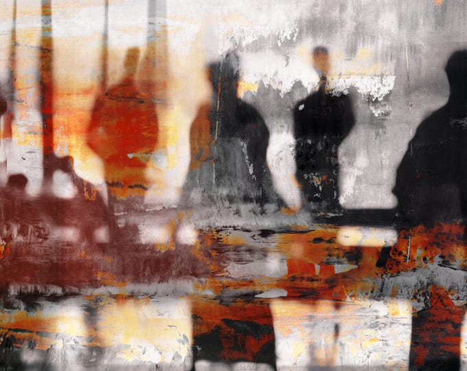 BURMA BLUR LIV by Sven Pfrommer - Artwork is ready to hang