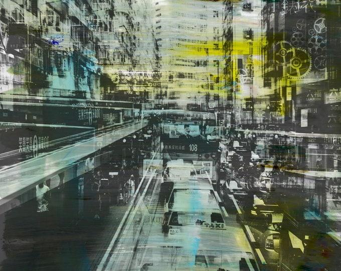 HONG KONG Urban Arch XXXIII - Artwork by Sven Pfrommer
