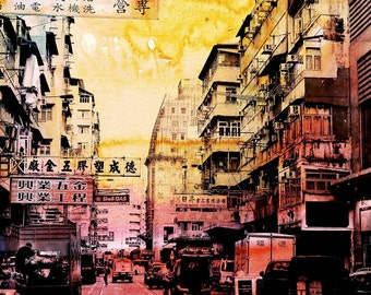 HONG KONG Streets XI by Sven Pfrommer - Artwork is ready to hang