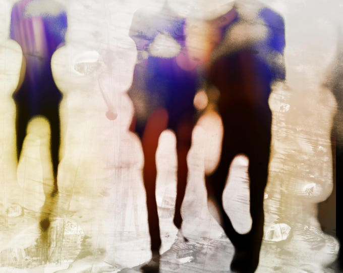 MYANMAR BLUR IV by Sven Pfrommer - Artwork is ready to hang