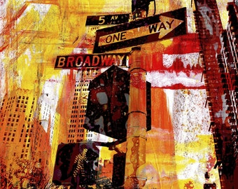 NEWYORK COLOR VI by Sven Pfrommer - 130x100cm Artwork is ready to hang