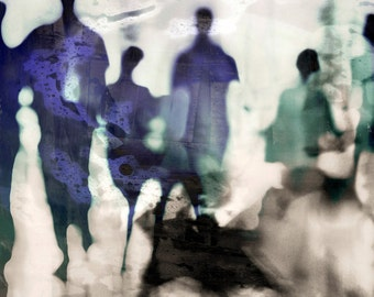 URBAN BLUR VI by Sven Pfrommer - Artwork is ready to hang