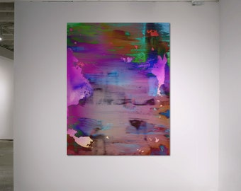 Abstract Scanography VI - by Sven Pfrommer - Artwork is framed and ready to hang