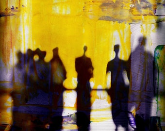 MYANMAR BLUR XXII by Sven Pfrommer - Artwork is ready to hang