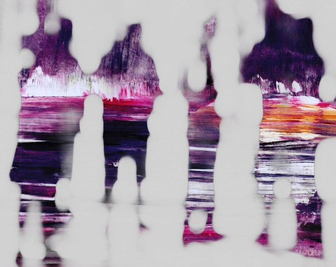 SAIGON BLUR LIII by Sven Pfrommer - Artwork is ready to hang