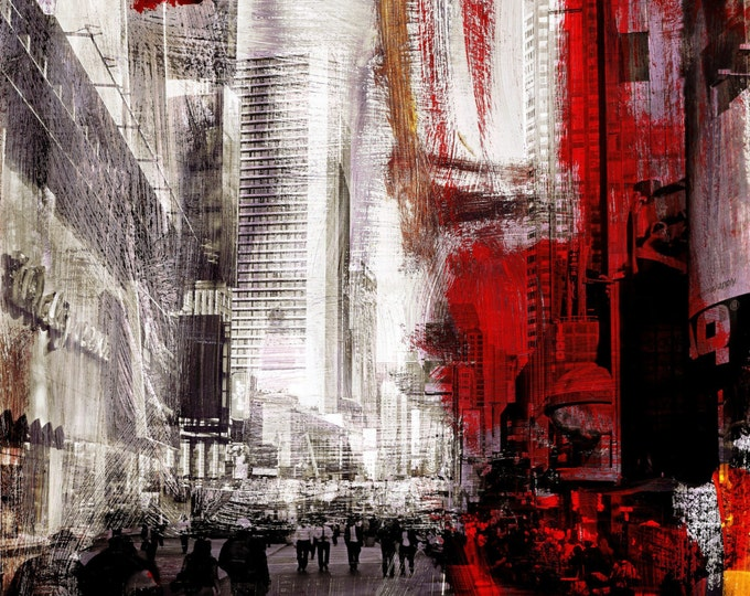 NEWYORK COLOR XXIX by Sven Pfrommer - 100x80cm Artwork is ready to hang