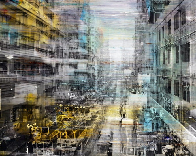 HONG KONG Urban Arch XVII - Artwork by Sven Pfrommer